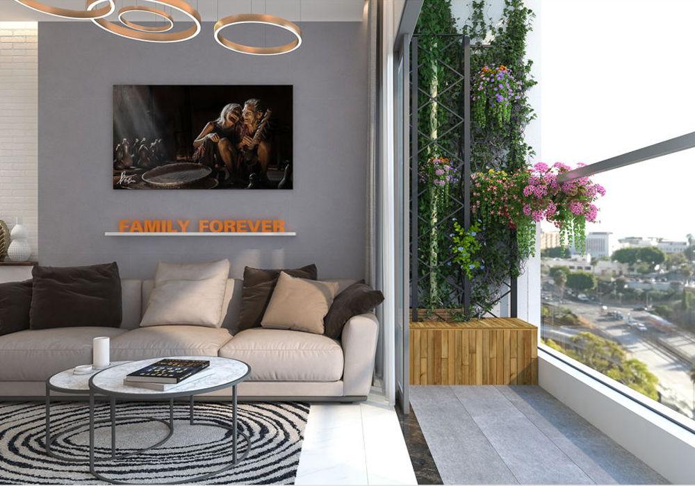 chuyen nhuong can ho resgreen tower-view phòng khách