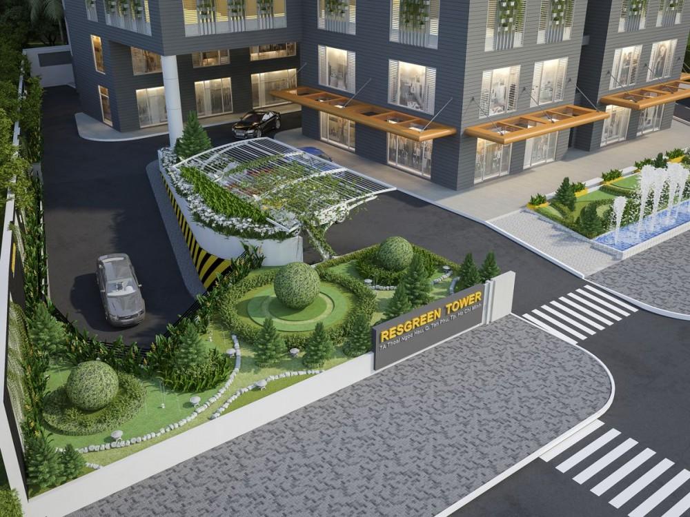 chuyển nhượng căn hộ resgreen tower - Tầng thương mại